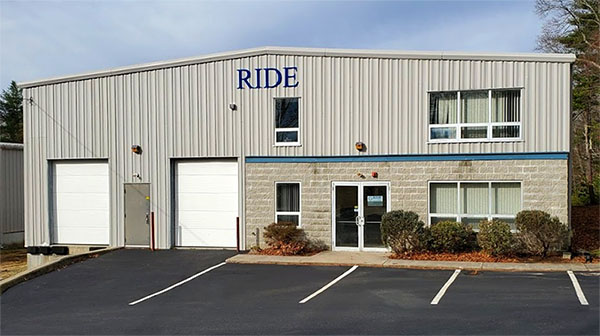 RIDE INC. West Greenwich, RI