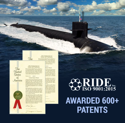 RIDE Technologies has been awarded over 600 US Patents